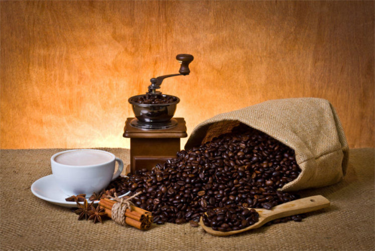 Idealnie zmielona kawa